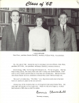 Jr. Class Officers:  Gene Fiese, Bonnie Churchill, Bill Wells