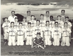 1956 Beloit Little League City Champions - Braves