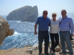 Bernie and I were recently guests of Uli and Emily in Sardinia.  They picked us up at the airport and we made a grand to